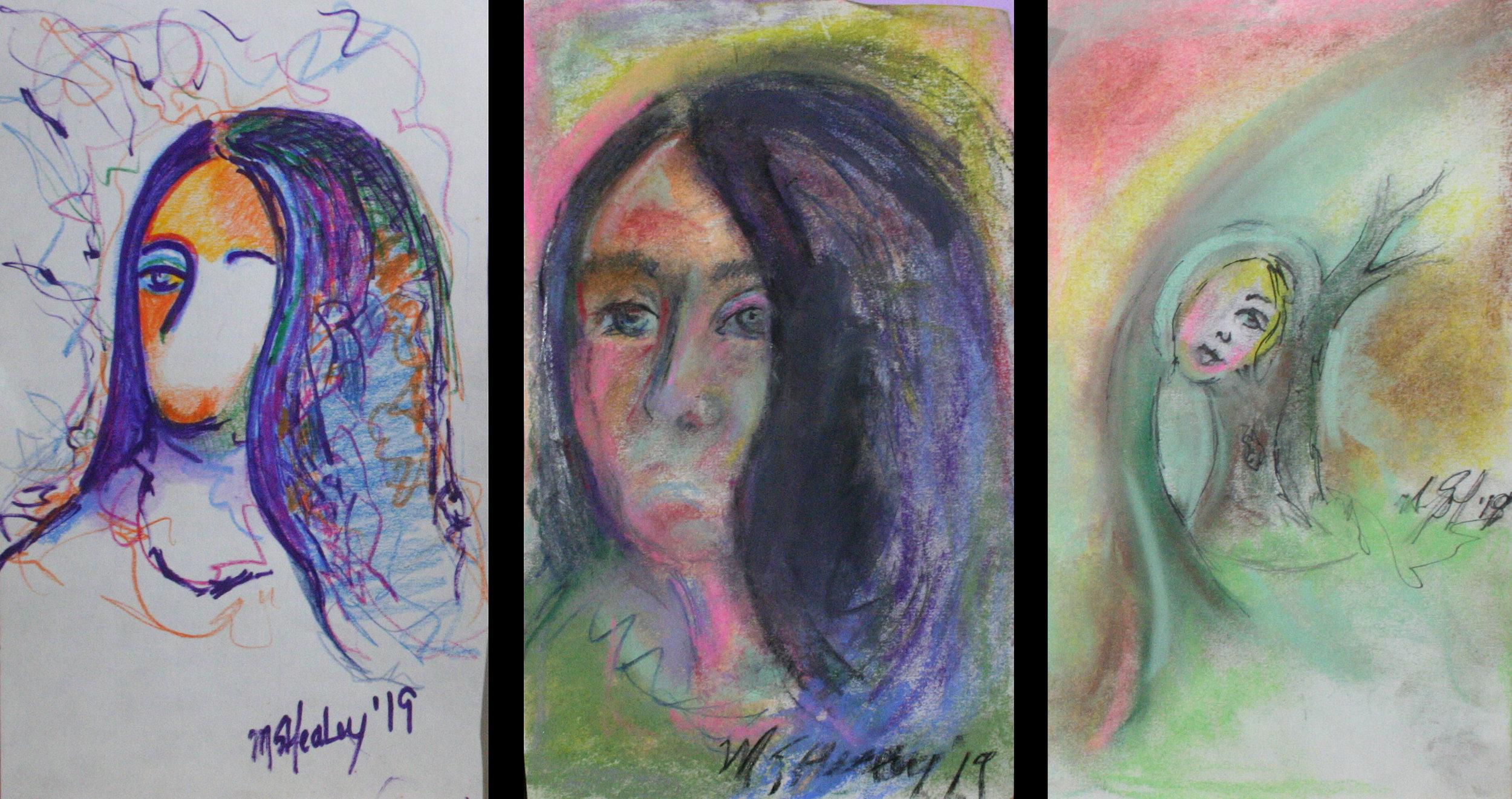 Margaret Schnell Healey - Pastels