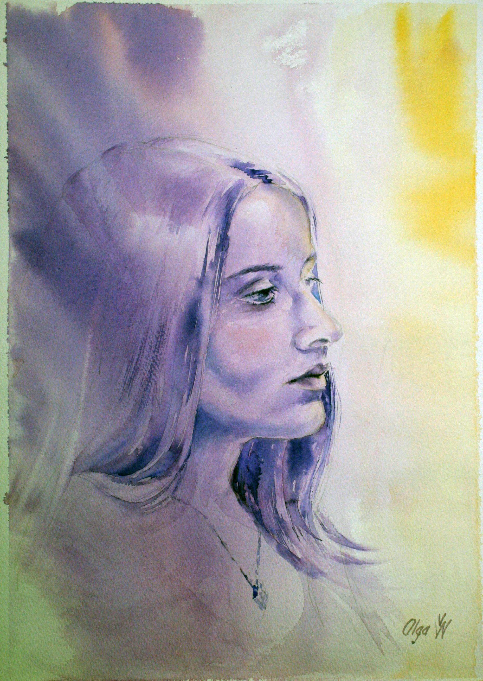 Olga Weinstein - Watercolors