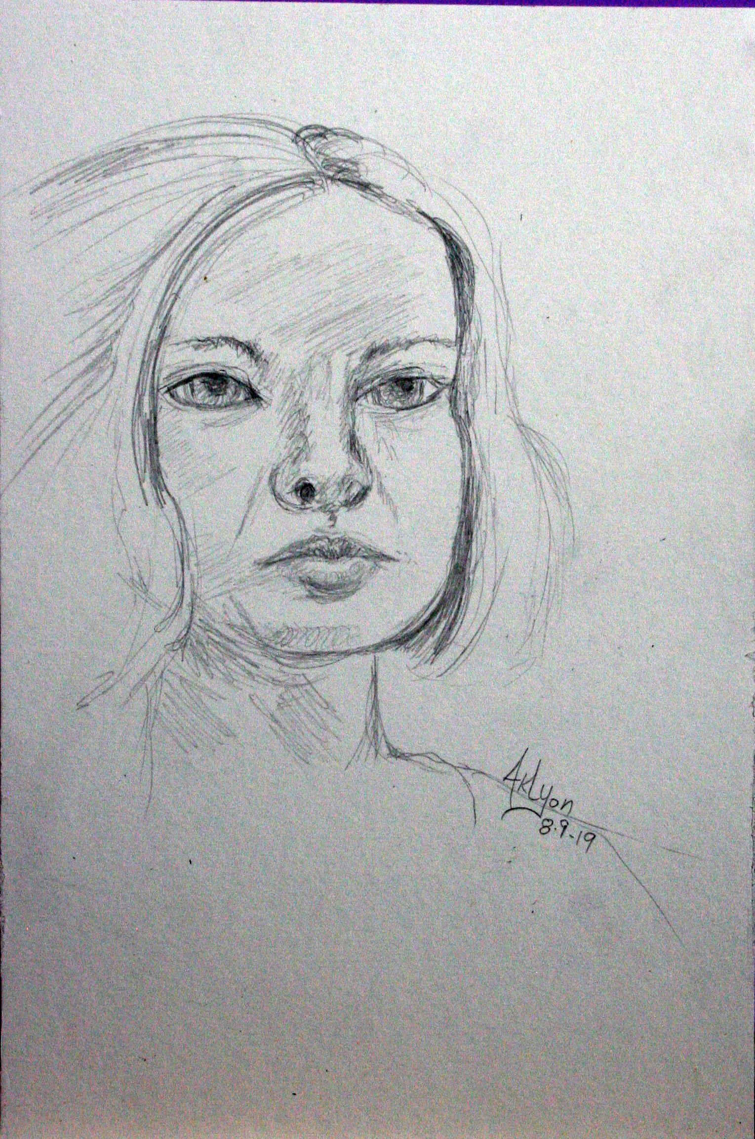 Anne Lyon - Pencil
