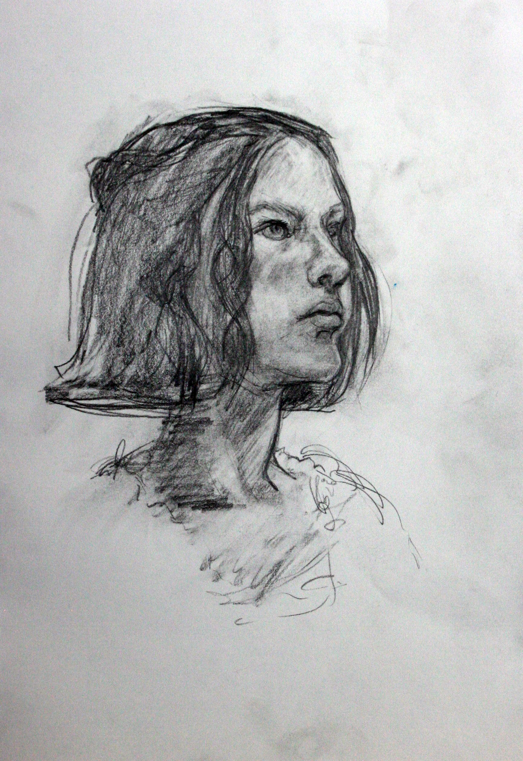Jesse Smith - Pencil and Wash