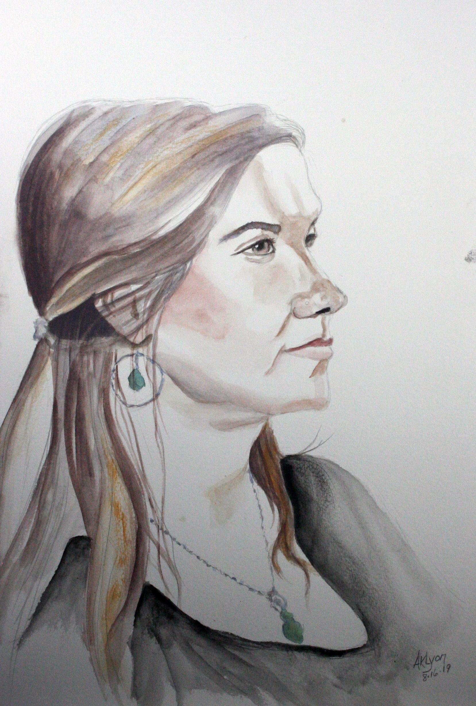 Anne Lyon - Watercolor