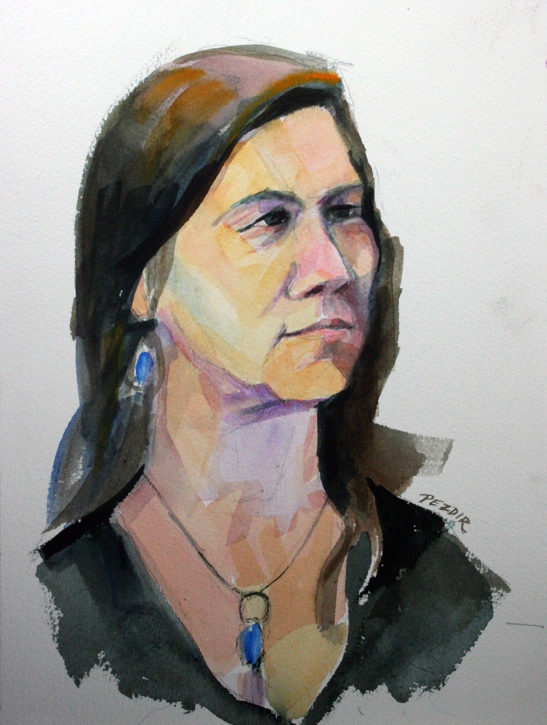 Judy Pezdir - Watercolors.