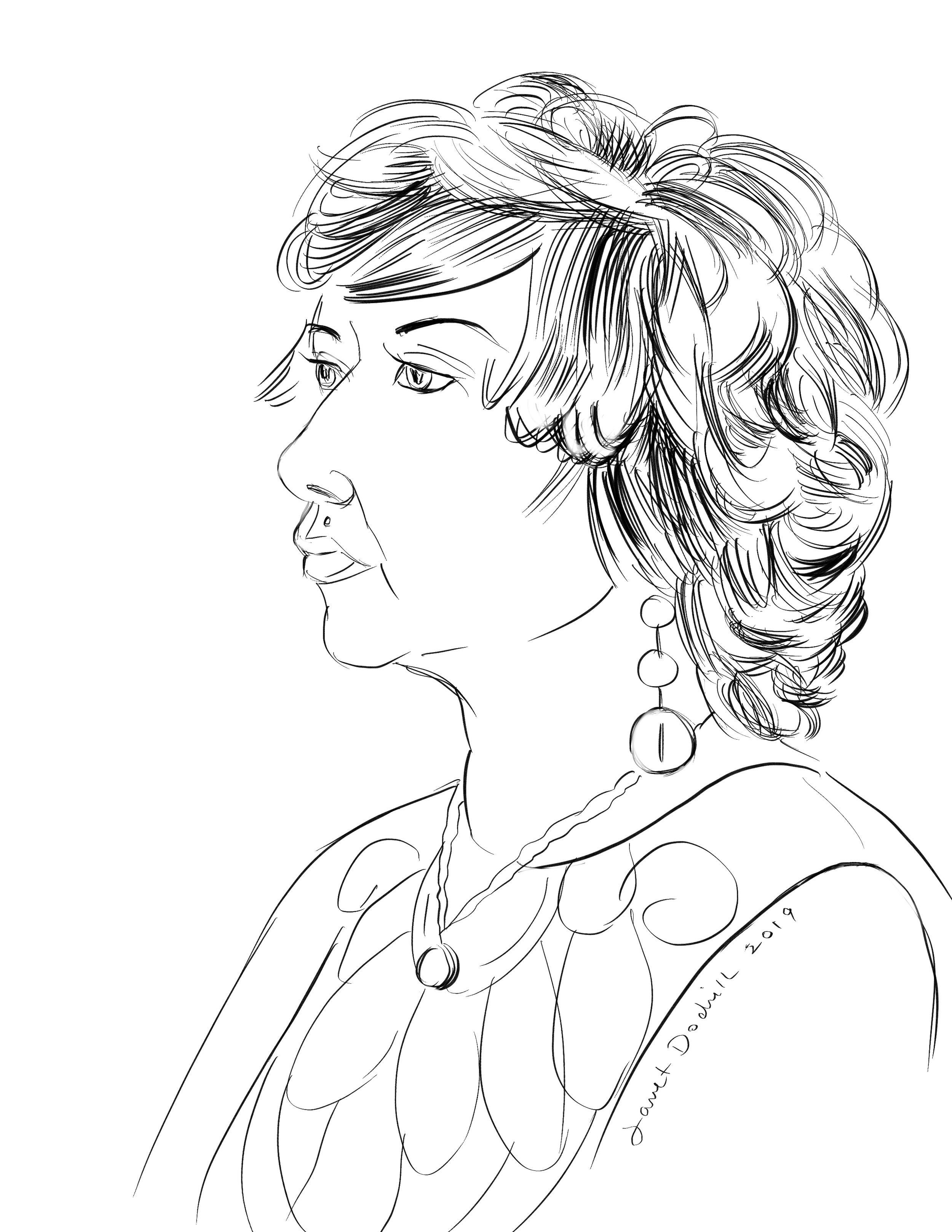 Janet Dodrill - I Pad