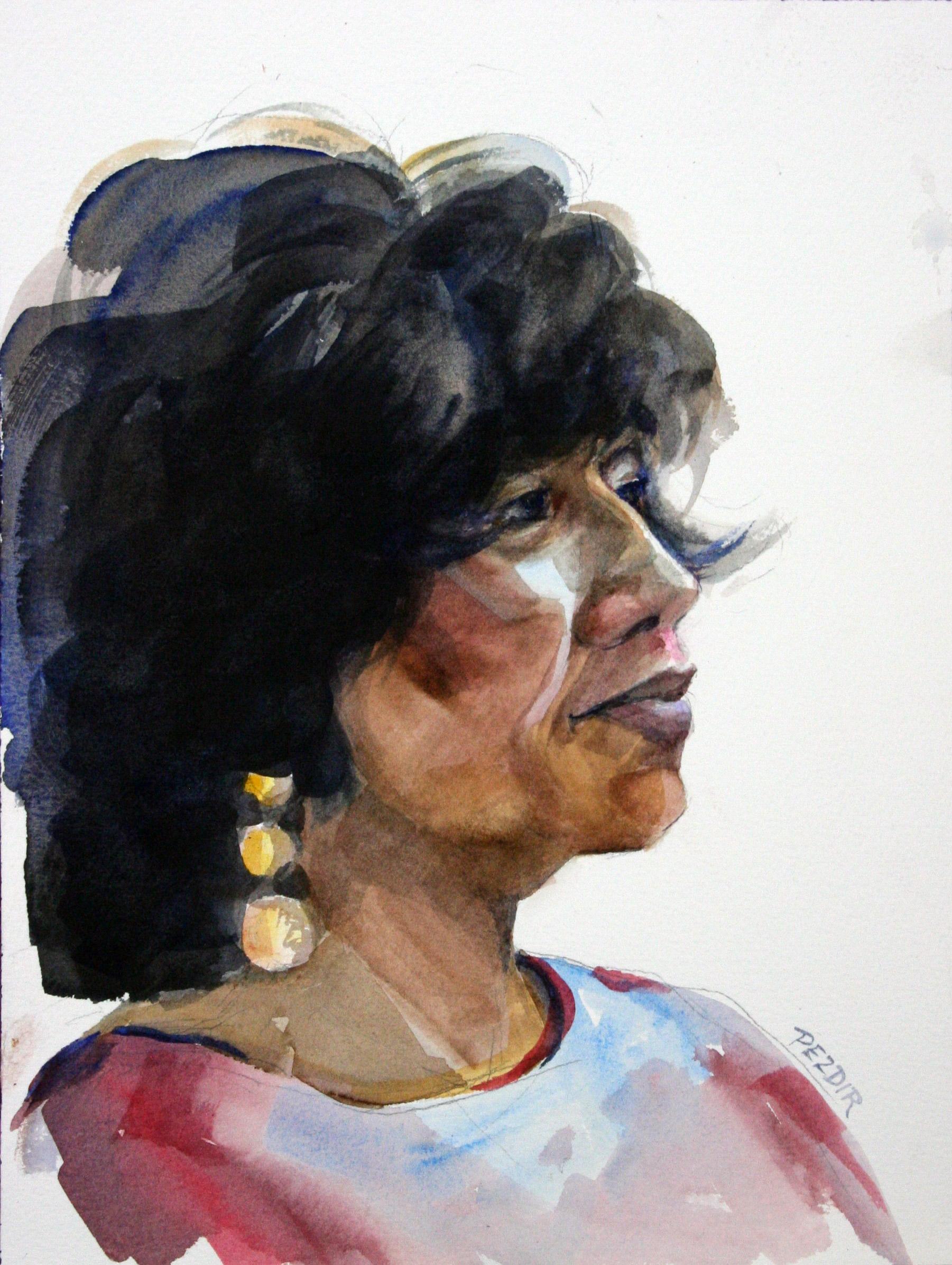 Judy Pezdir - Watercolors