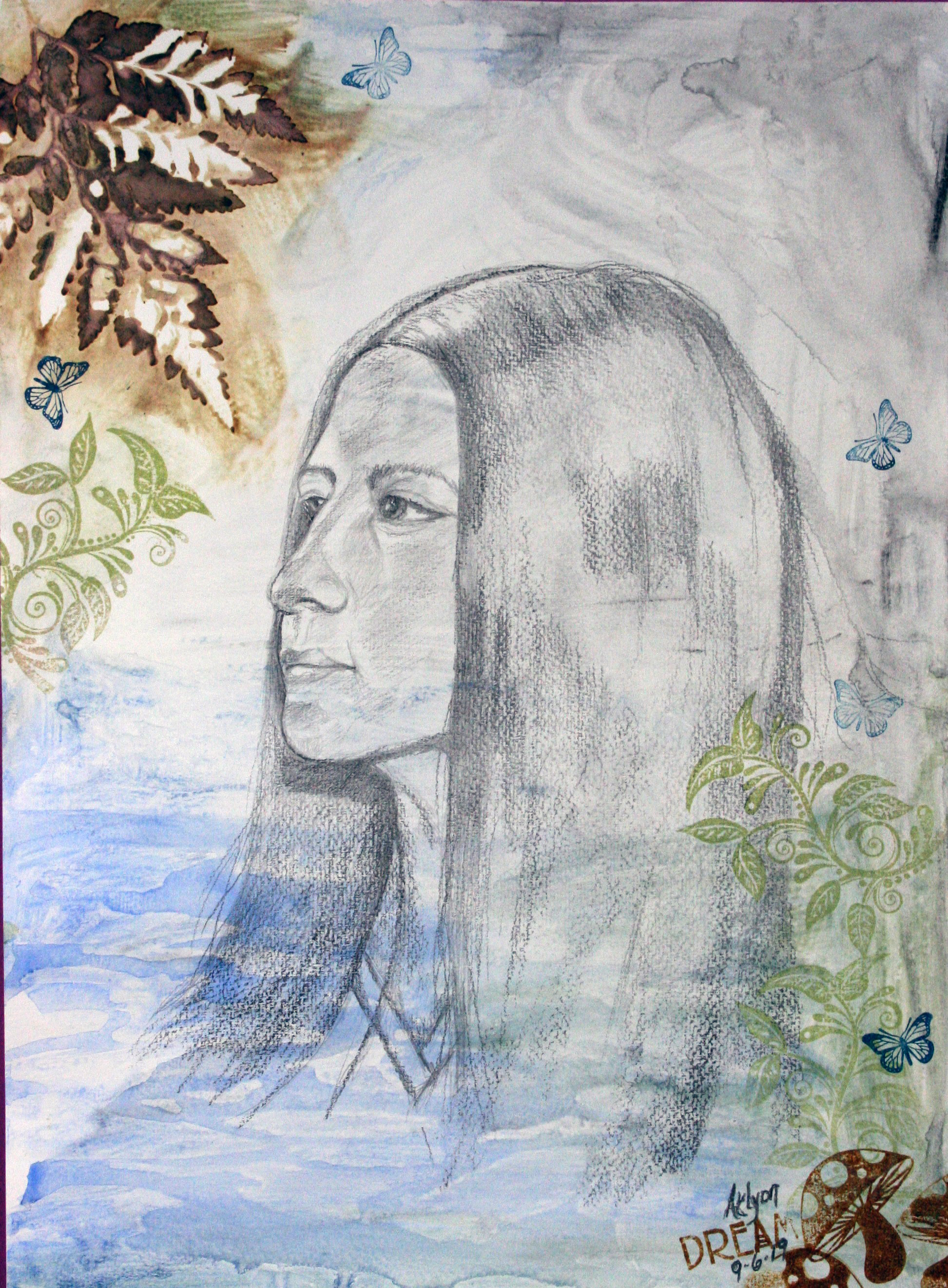 Anne Lyon - Mixed media