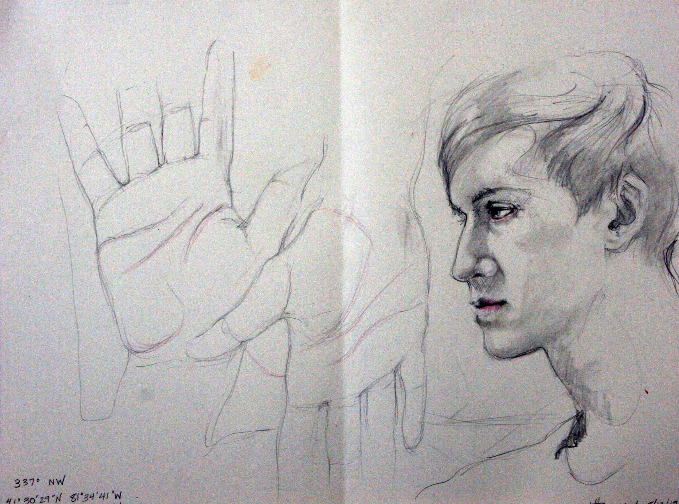 Jane Clay Teasley Hammond - Graphite