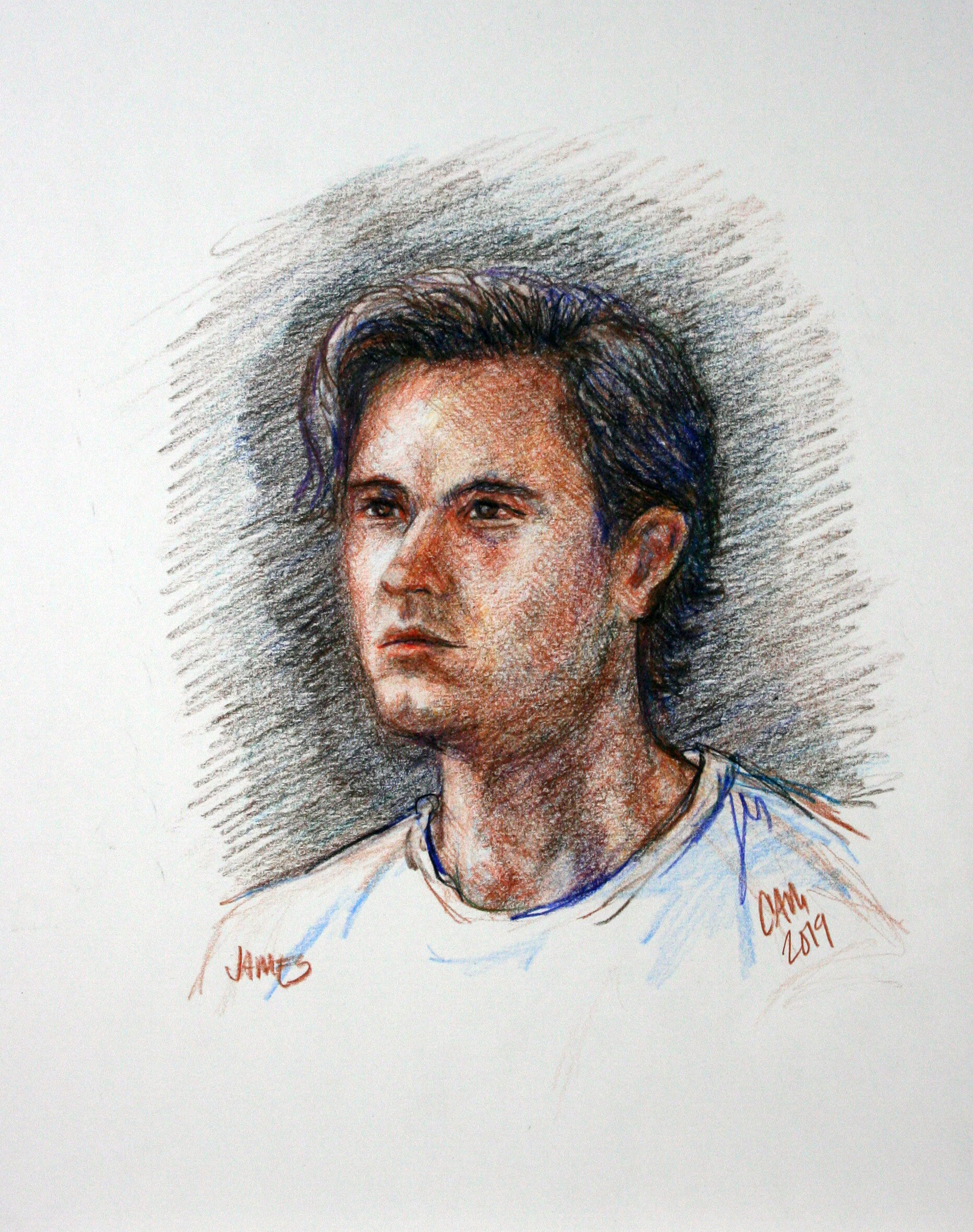 Cam Tulcewicz - Colored pencils