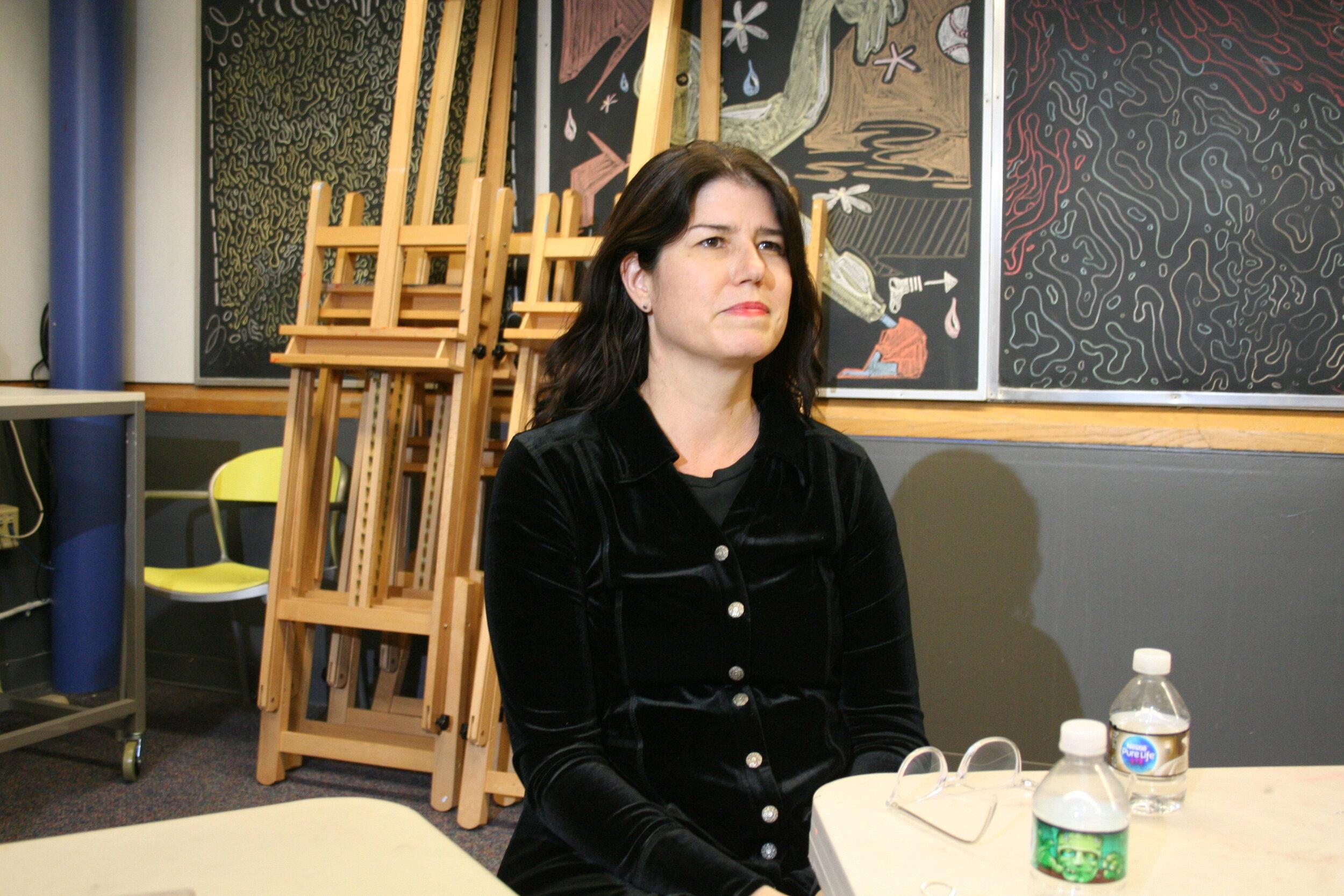 Tracey Hazelett Hilbert at Artful Cleveland 10-4-19.JPG