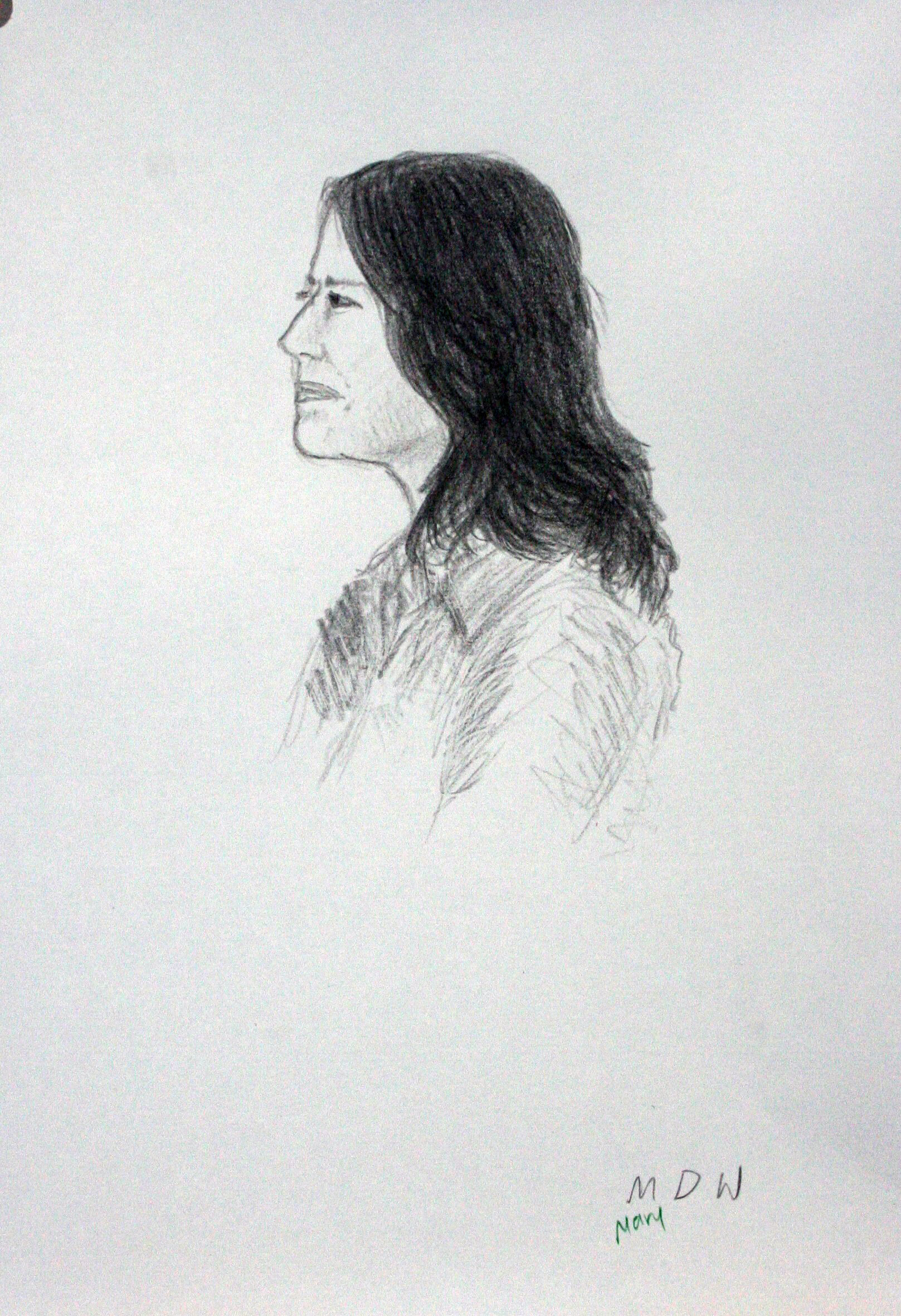 Mary Diane Walsh - Charcoal