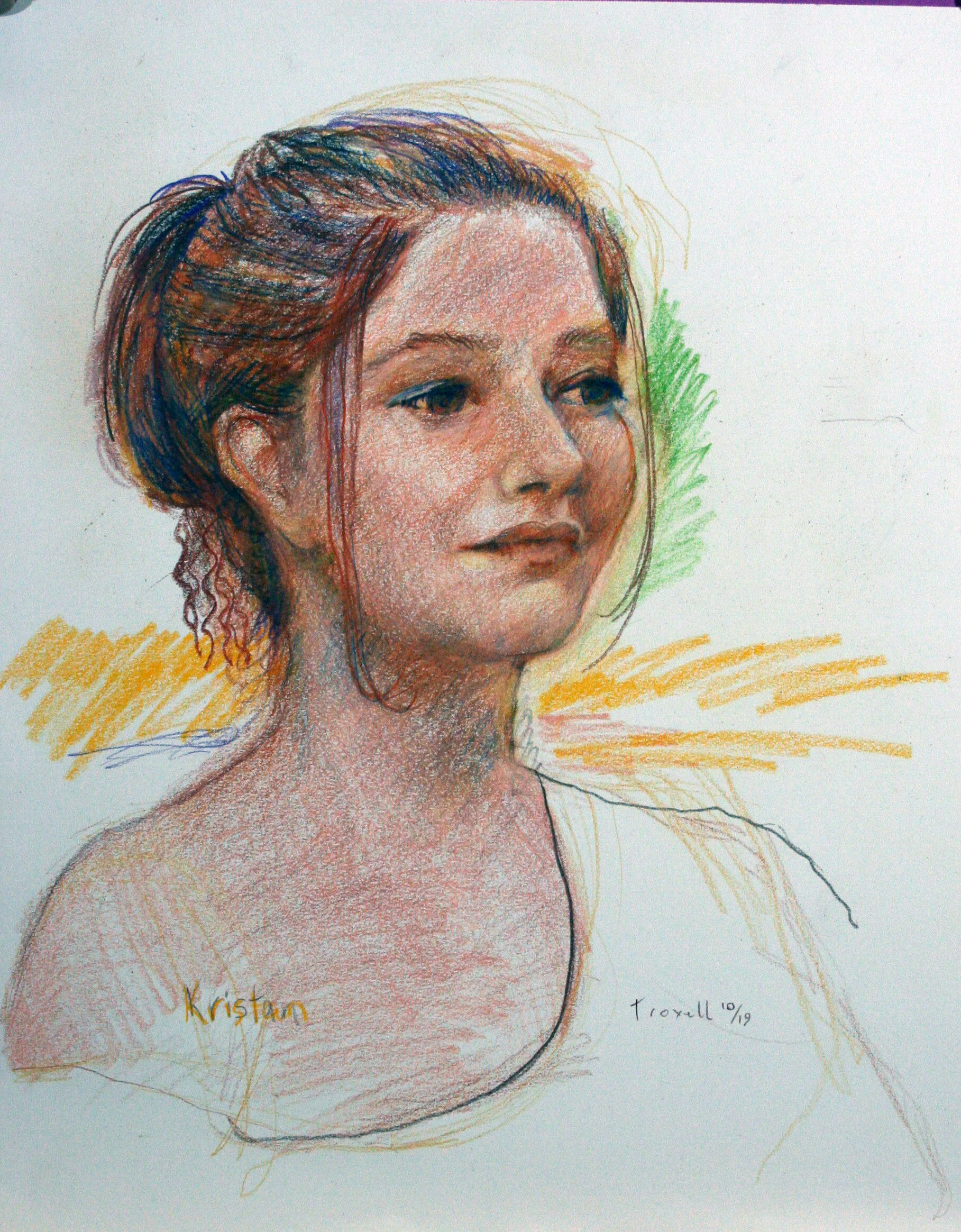 John Troxell - Colored pencils