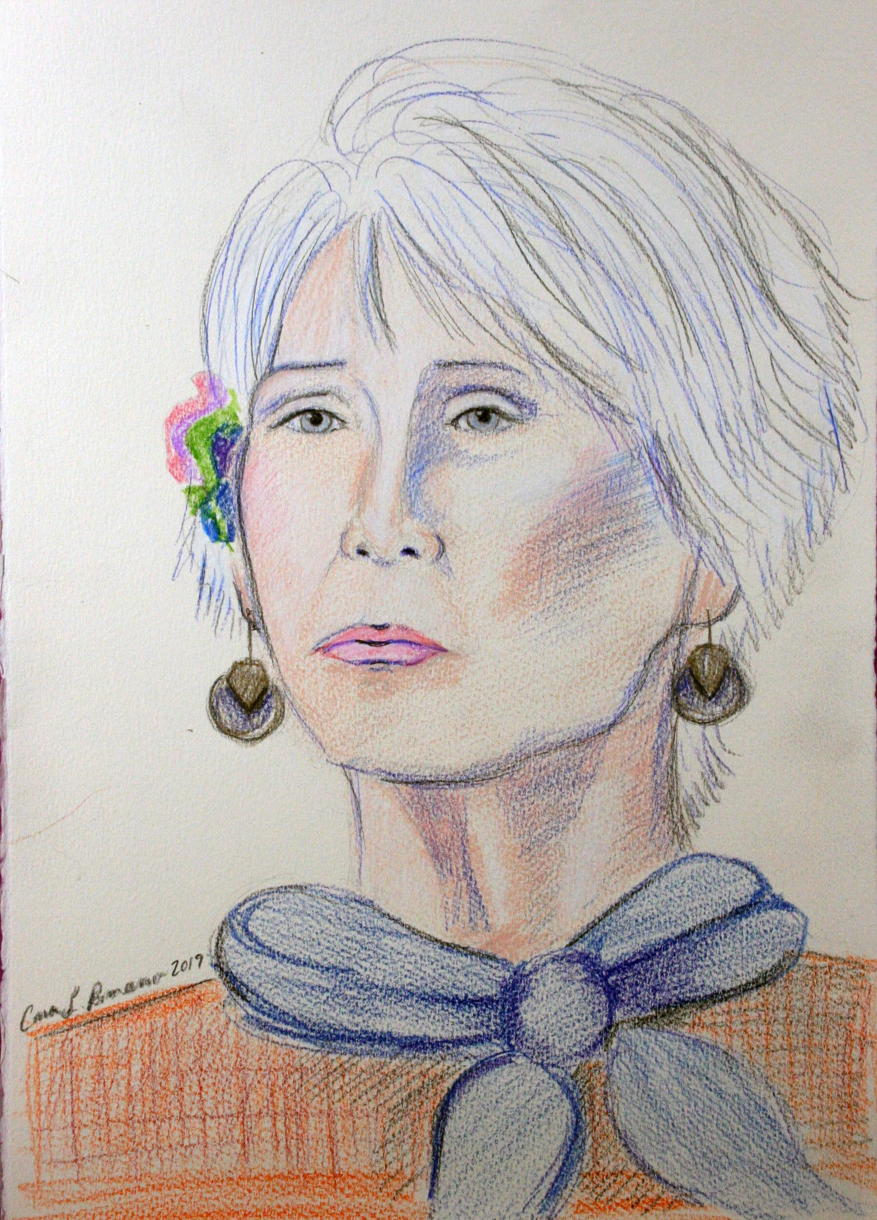Cara Romano - Colored pencils
