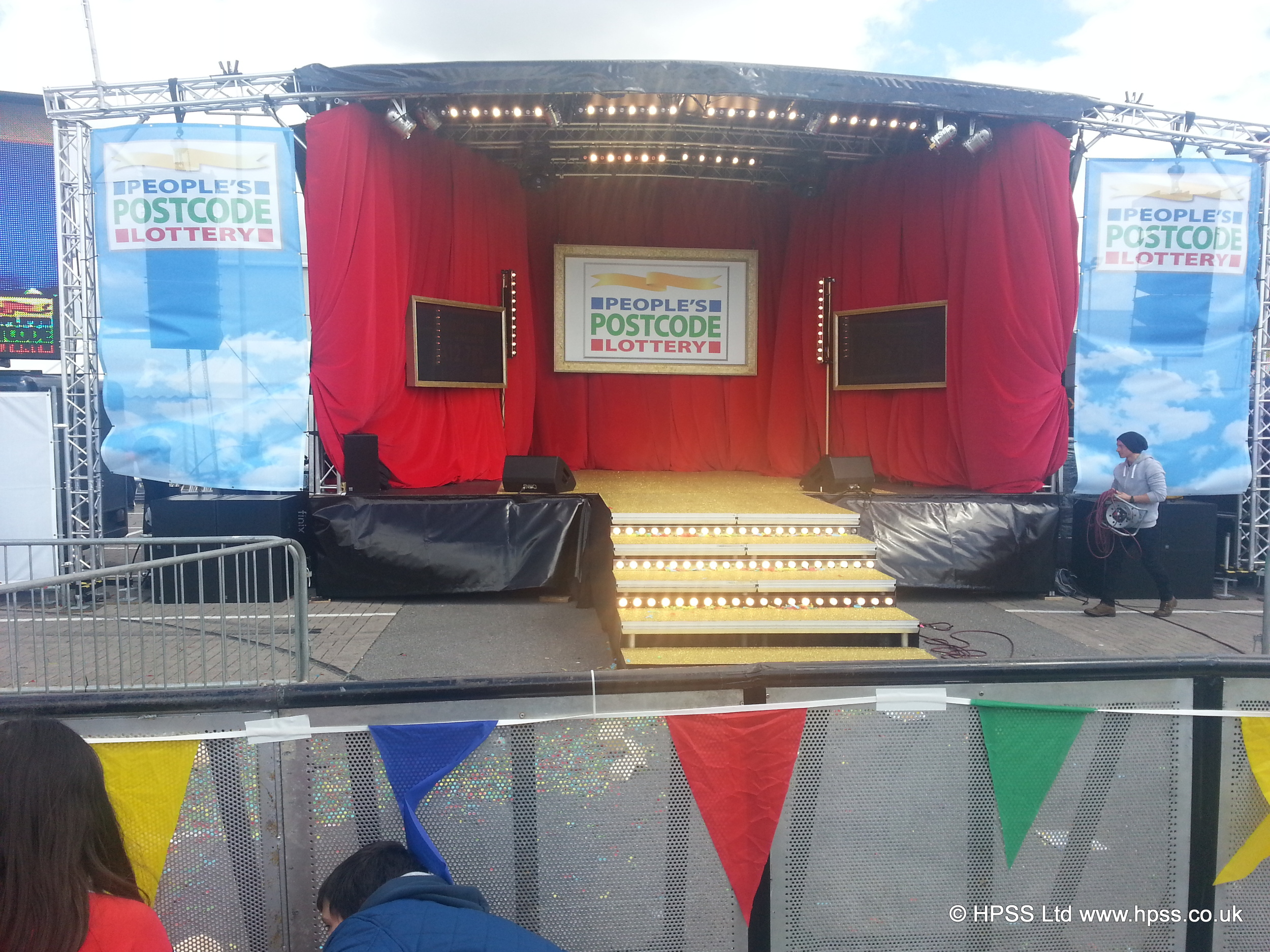 Decorated stage