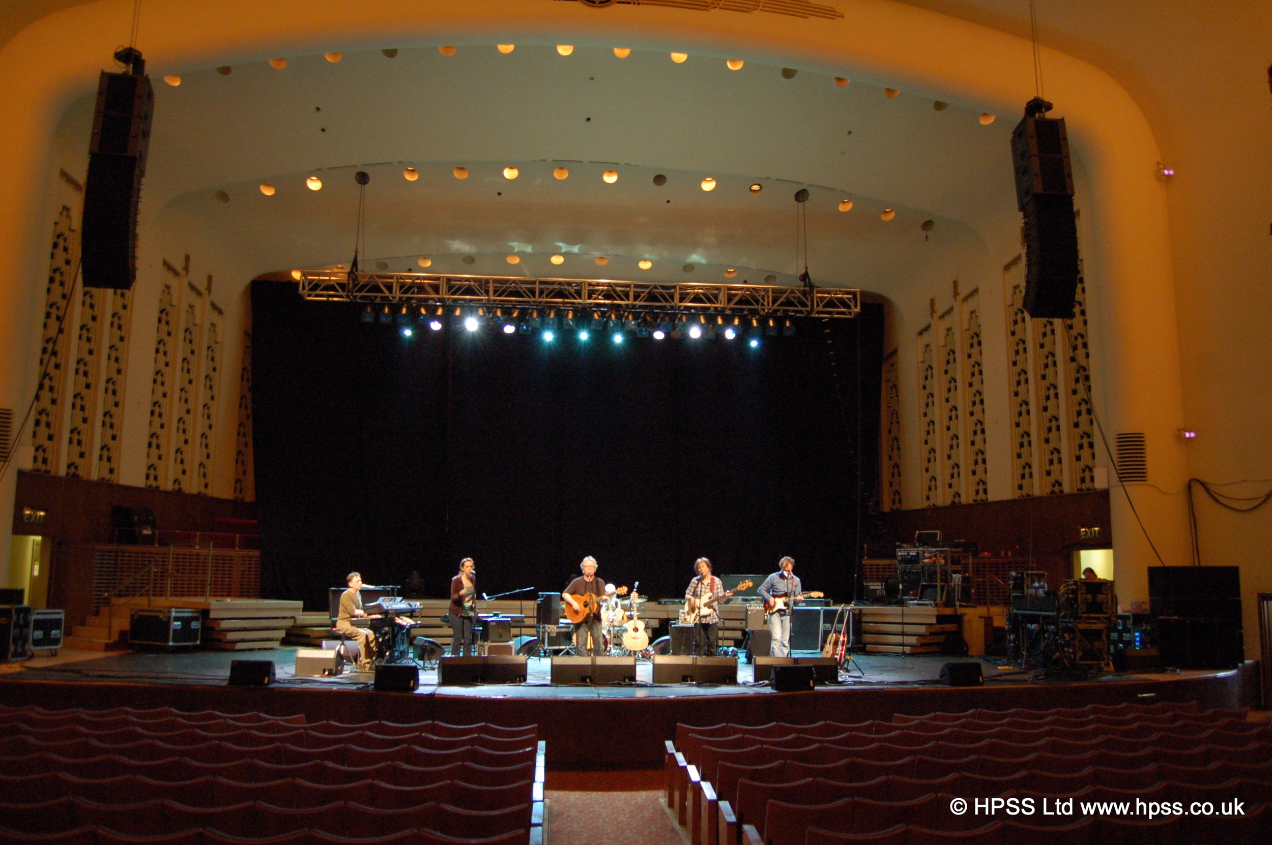 L Acoustic flown in Liverpool Philharmonic Hall .JPG