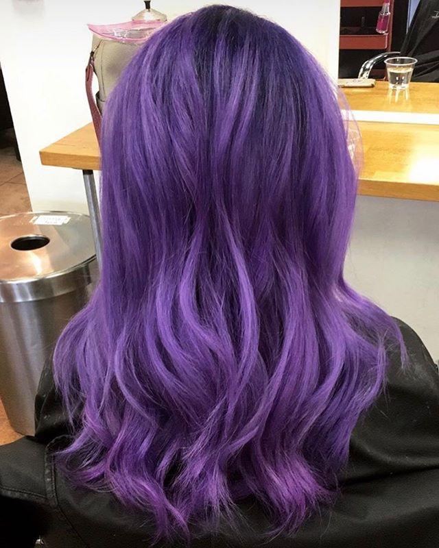 Purple Rain  Fashion color by Maci #pulpriot #madisonstylist #mssalon #ridgelandms #madisonms #purplehair