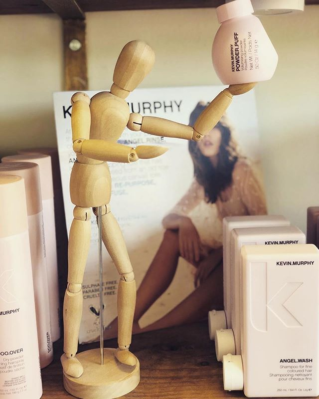 #Repost @baileymarienew ・・・ Come Check out our Kevin.Murphy products at MollyGee salon & Co 😍 I am now a firm believer that this stuff is THE BEST!! #MollyGeeandCo #thewoodenmanadventures #kevinmurphyproducts #kevinmurphy #thewoodenmannequinadventures