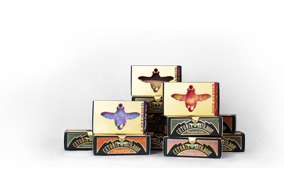 Natural Soap - Our cold processed handmade soap with natural ingredients provides creamy and bubbly lather
