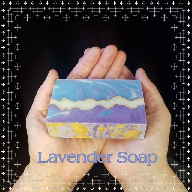 Look at the colors on the latest batch of our handmade Lavender Soap! Mica powder gives it the final shimmering touch. Each bar of Cetonia soap is a work of art, smells incredible and is full of ingredients your skin will love!  #lavendersoap #lavenderessentialoil #lavender #vegan #plantbased #biodegradable #moisturizing #bath&body #madeinsonoma #handmadesoap #artisansoap #soapart #highquality #natural #naturalskincare #naturalbodycare #cpsoap #coldprocesssoap #giftidea #sonomacounty #naturalsoap #handmademovement #indiebeauty #cleanbeauty #greenbeauty #smallbusiness #greenbeauty #madeincalifornia #smallbatch #sheabutter