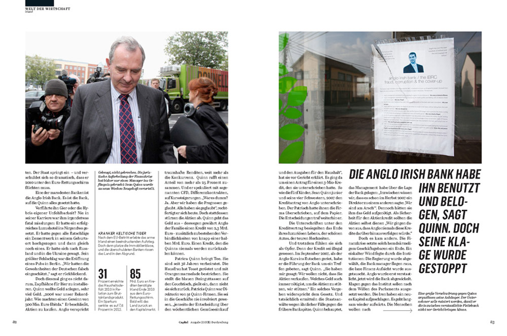 Capital Magazine, June 2013