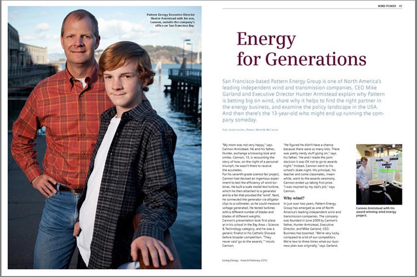 Living Energy Magazine, Feb 2012