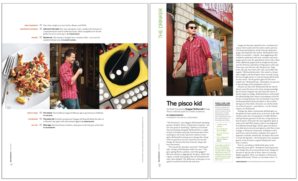 San Francisco Magazine, June 2010