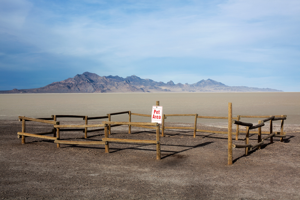 Pet Area, Bonneville Salt Flats, Utah