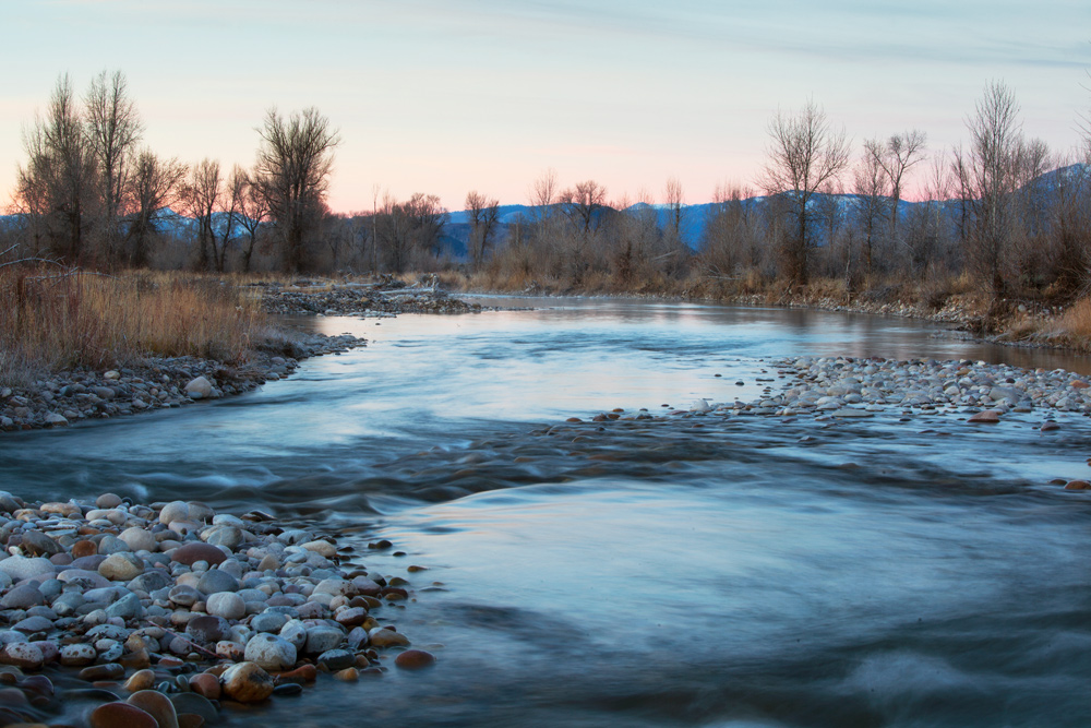 The Gros Ventre River