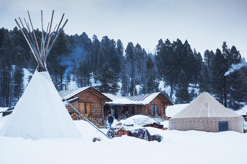 Buffalo Field Campaign HQ, West Yellowstone, Montana.