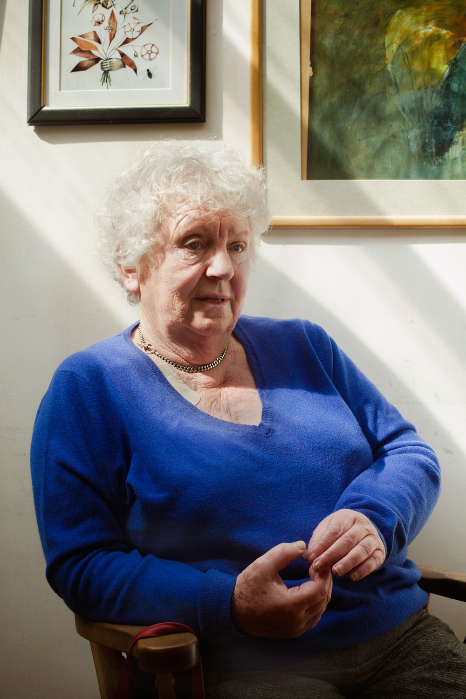 Nell McCafferty, Irish Journalist, Author, Activist.