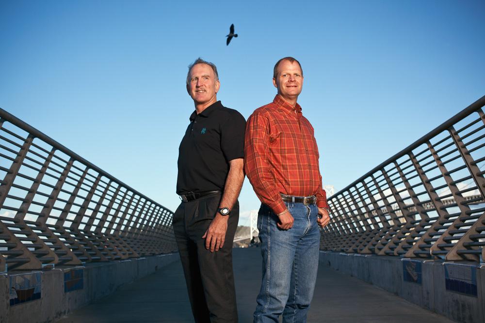 Mike Garland & Hunter Armistead, Pattern Energy, San Francisco.