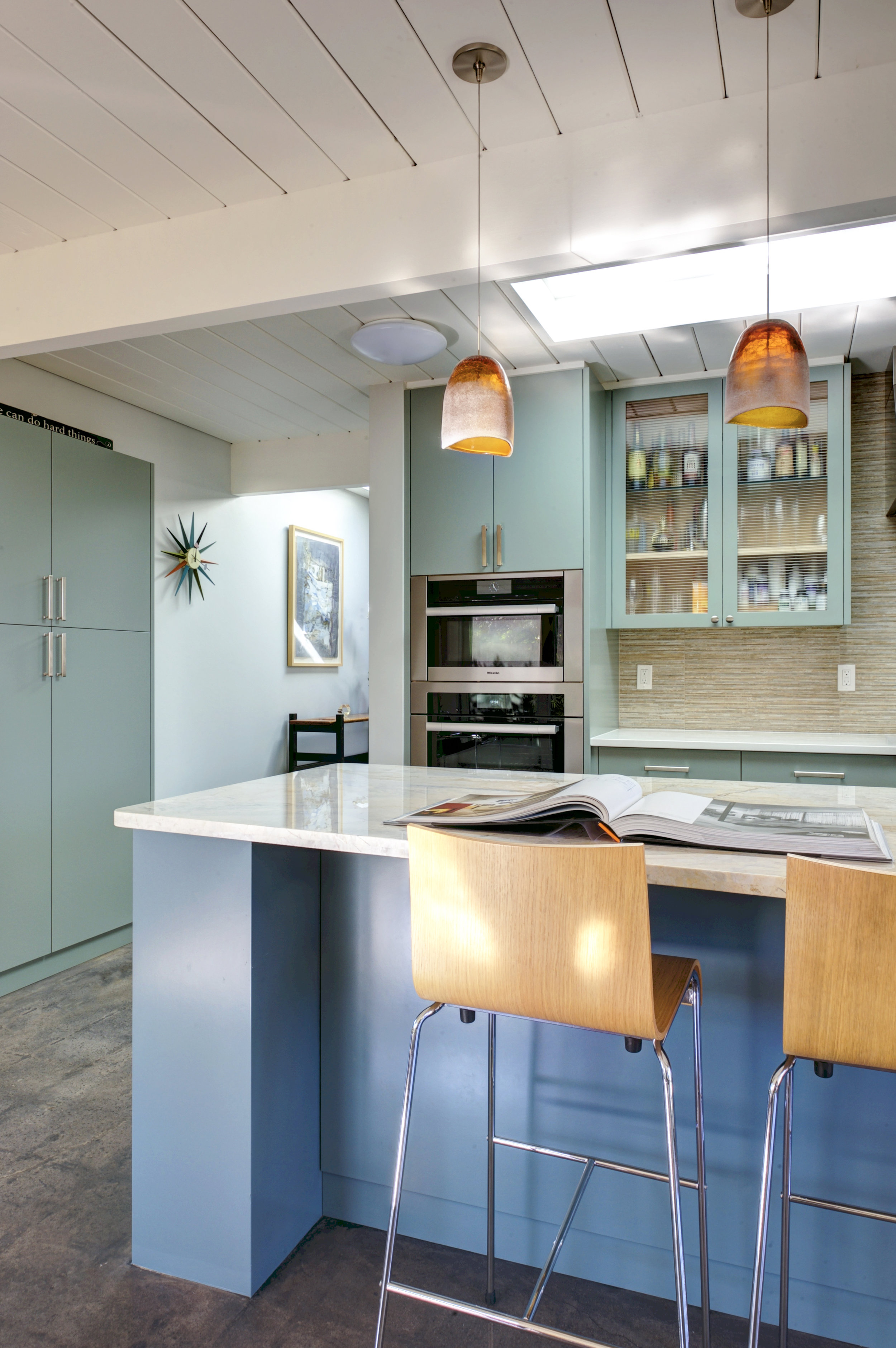 San Mateo Eichler - complete home remodel