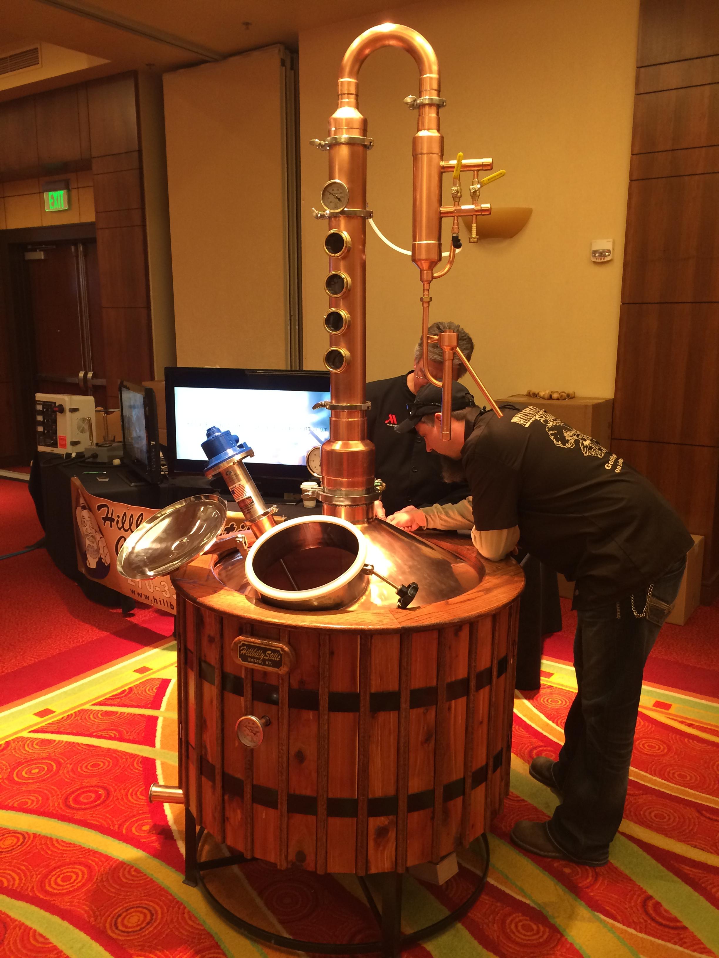Anvil Distillery's first Still !