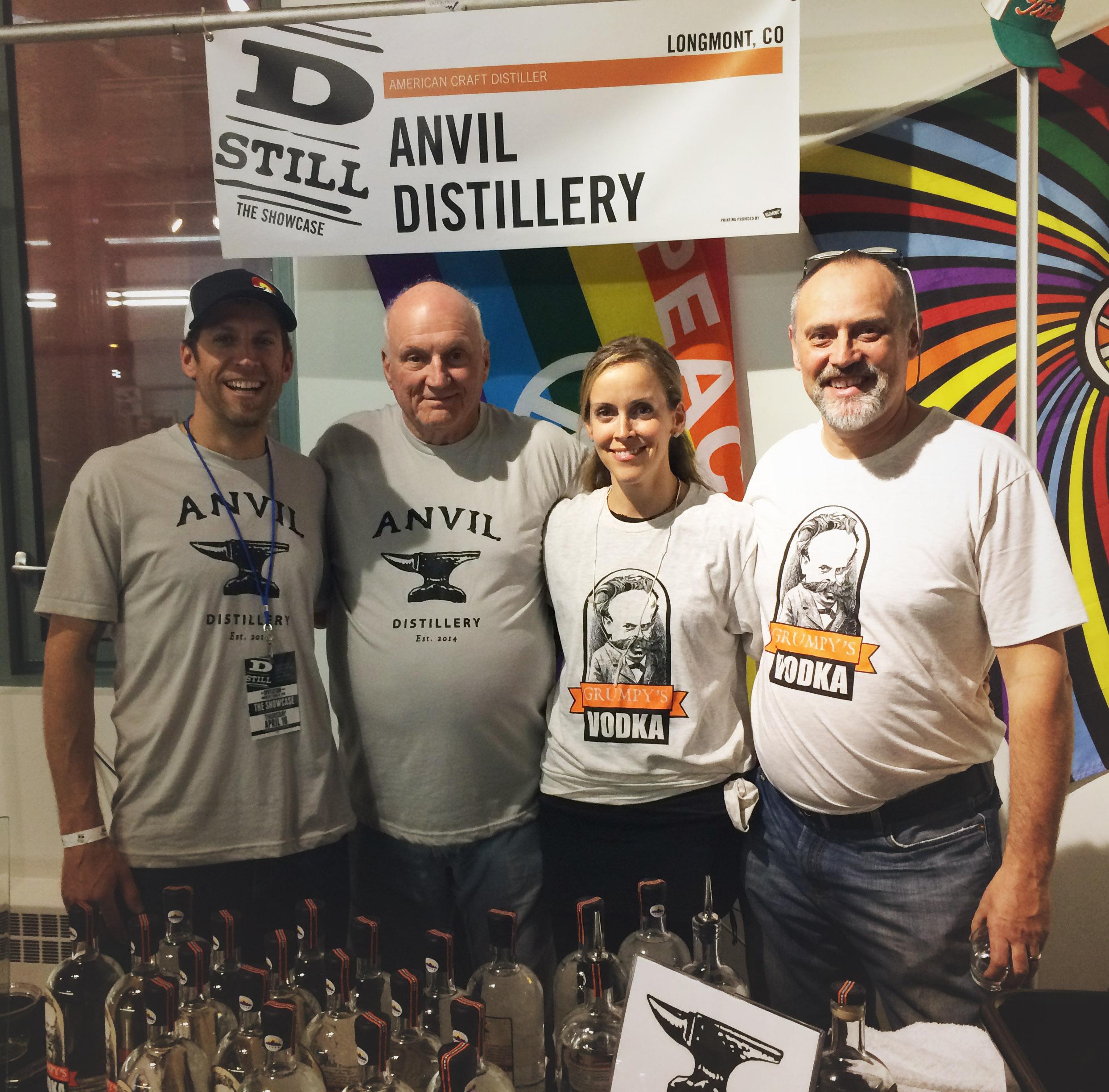The Anvil crew at Dstill