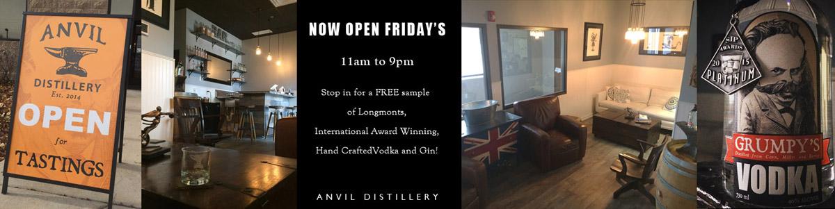 Open Friday nights!