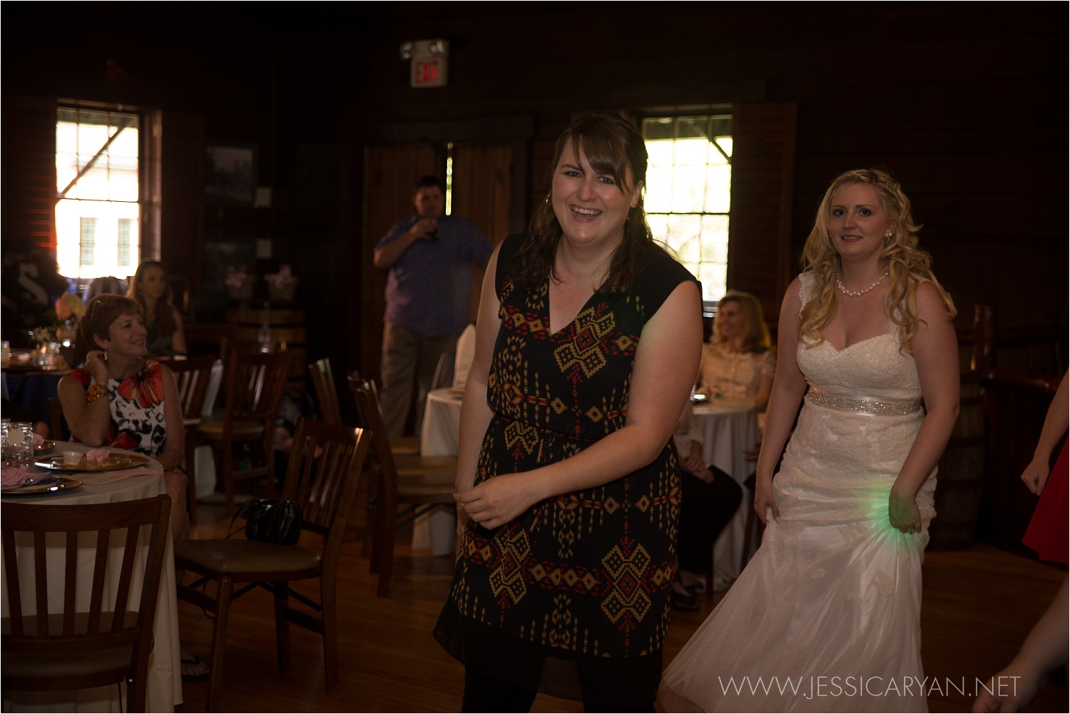 And sometimes I let them put down their camera for a minute to teach the guests (and bride) how to do the Wobble :)