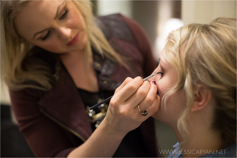 ashley meadows makeup louisville wedding