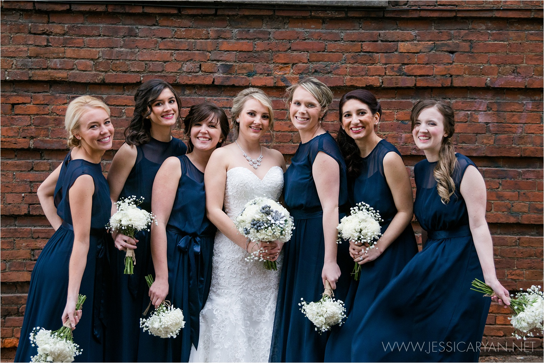 kentucky science center wedding bridesmaids