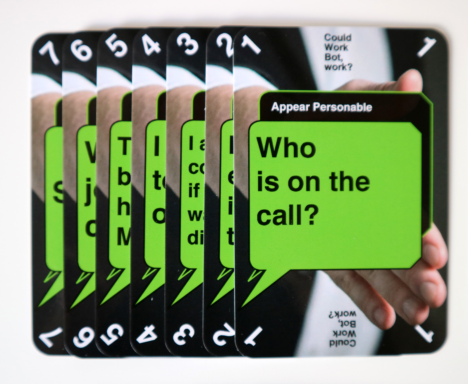 Appear Personable theme cards
