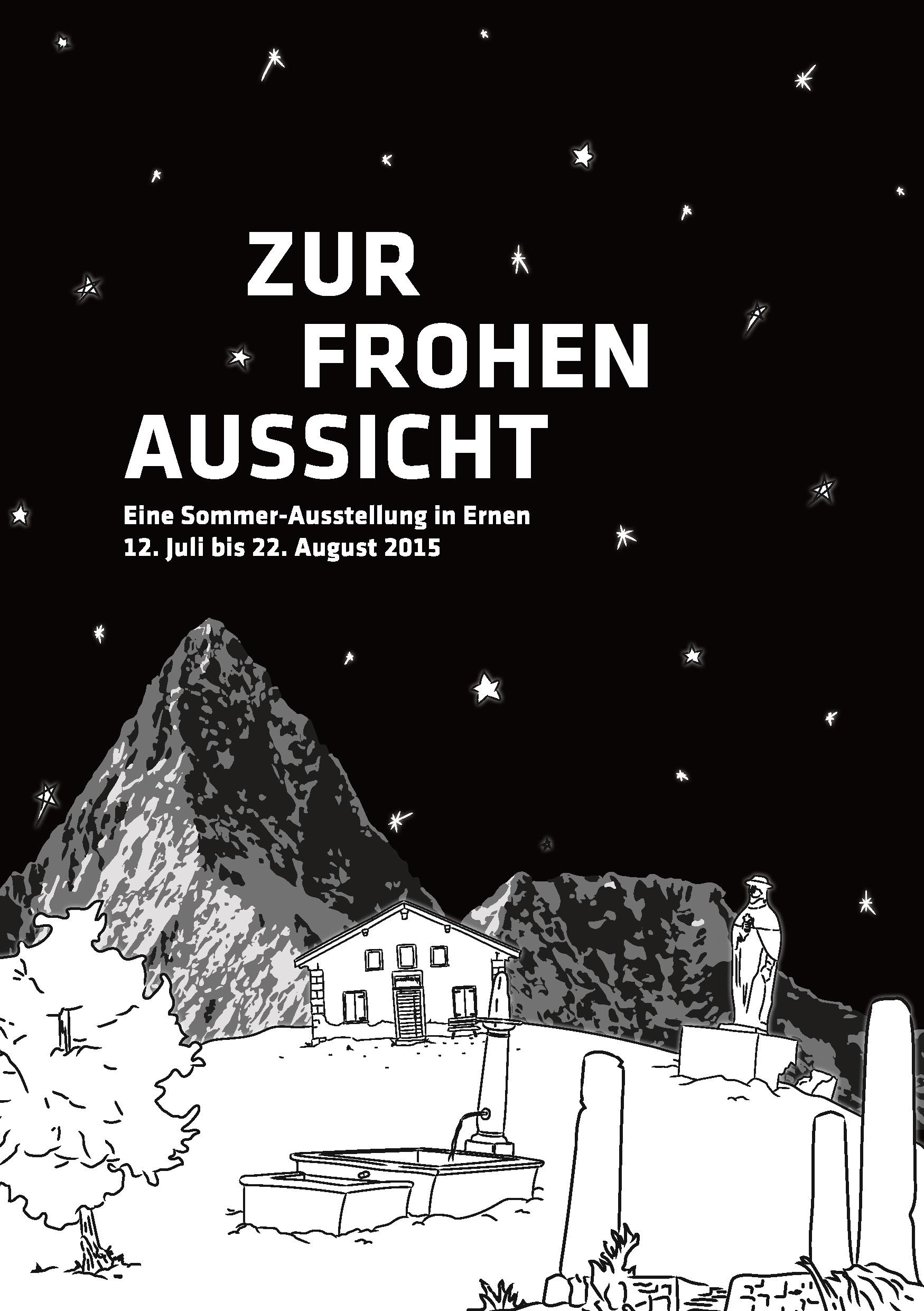 Publikation 2015 - Zur Ausstellung 2015 ist eine Broschüre erschienen. Mit Essays von Daniela Janser (Publizistin und Kulturwissenschaftlerin) und Willi Wottreng (Publizist) und Kurztexten zu den ausgestellten Werken von Josiane Imhasly. Die Broschüre kann für Fr. 5.– plus Versandkosten bestellt werden.