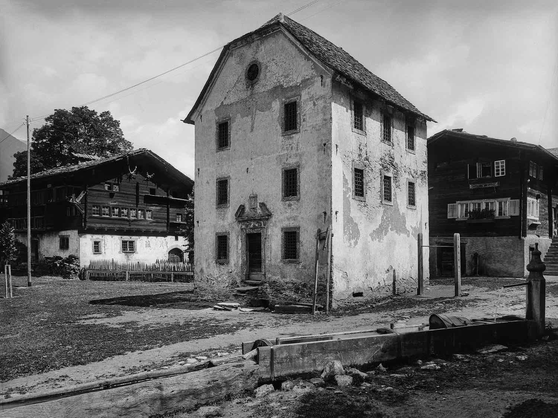 Landscape, 1922 Schweizerische Nationalbibliothek,  Eidgenössisches Archiv für Denkmalpflege:  Archiv Rudolf Zinggeler