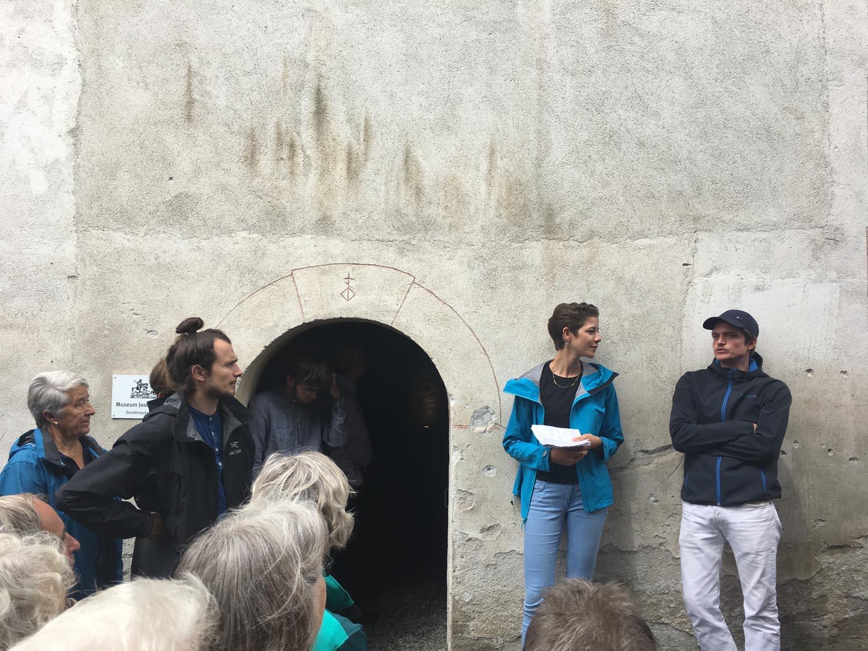 Gespräch zwischen Andreas Kalbermatter und Josiane Imhasly