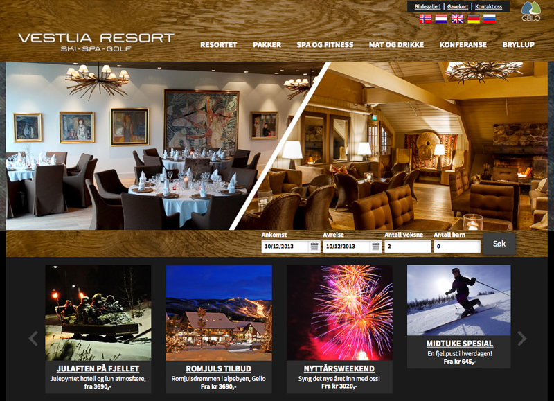 Vestlia Resort / Ski - Spa - Golf
