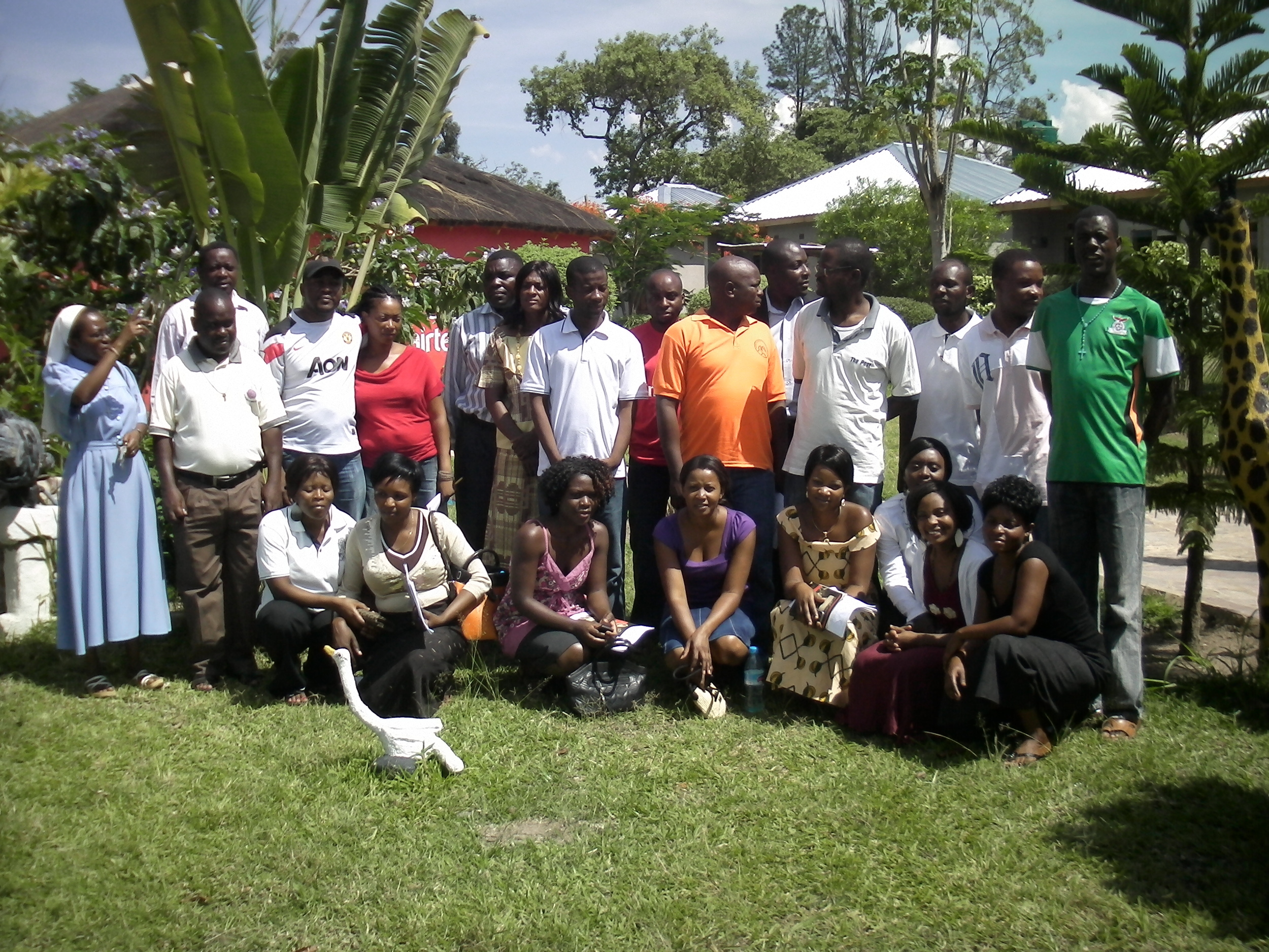 Couple facilitators for the diocese of Mansa
