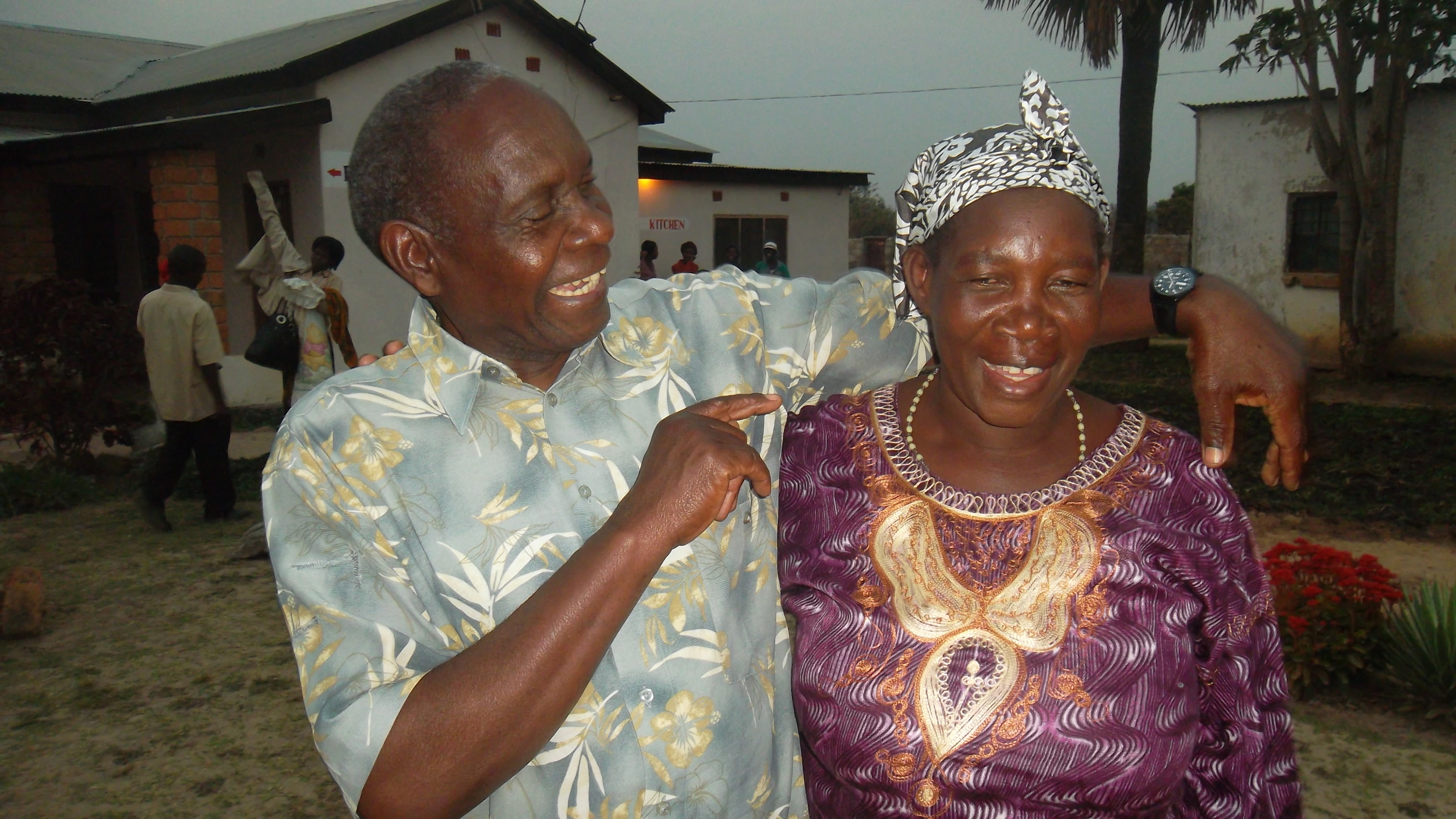 This is where the program leads most of our couples -  smiles...