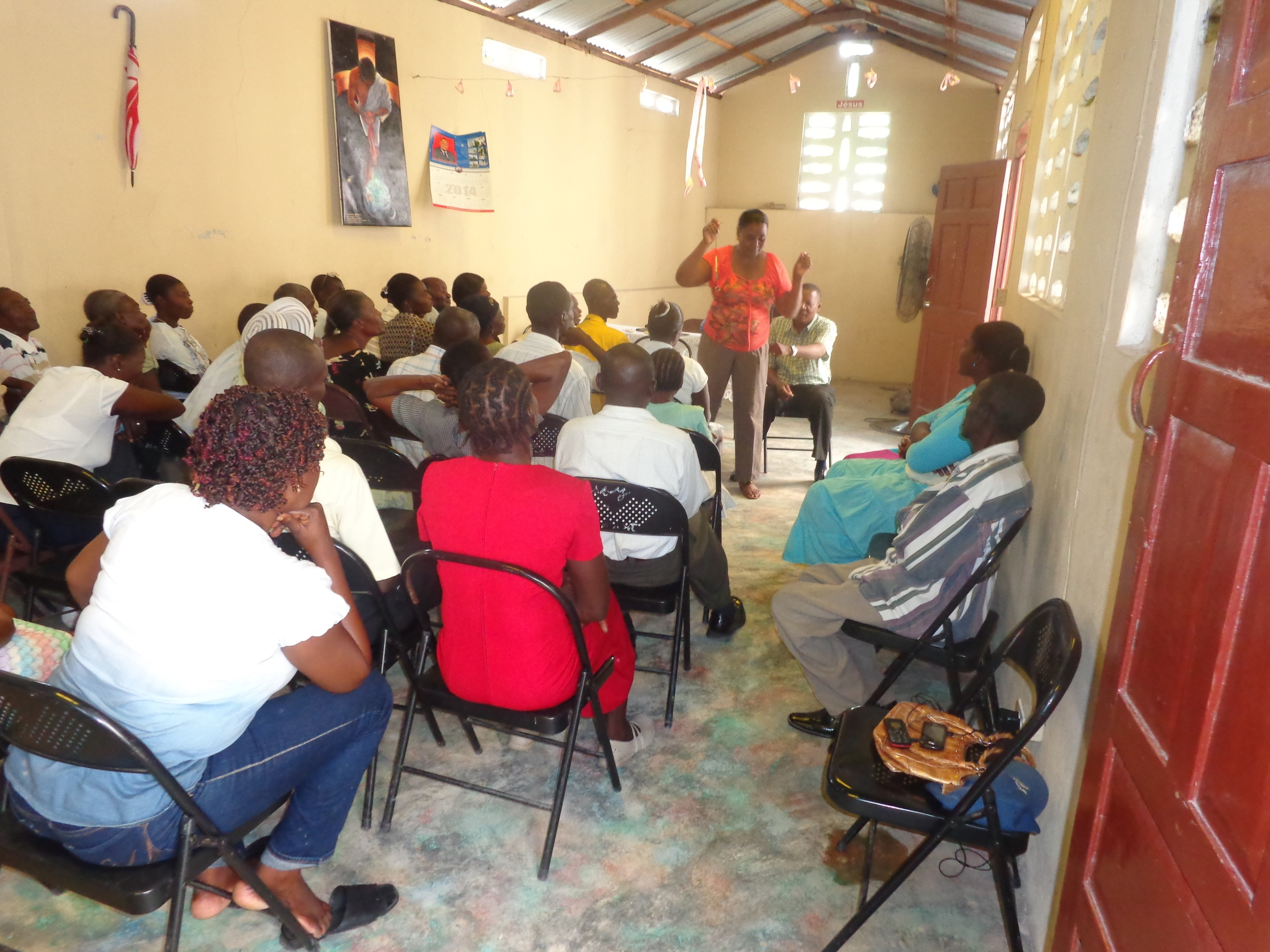 Faithful House Training - Tanzania