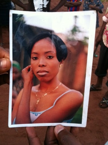 Picture of young woman who died in Nigeria