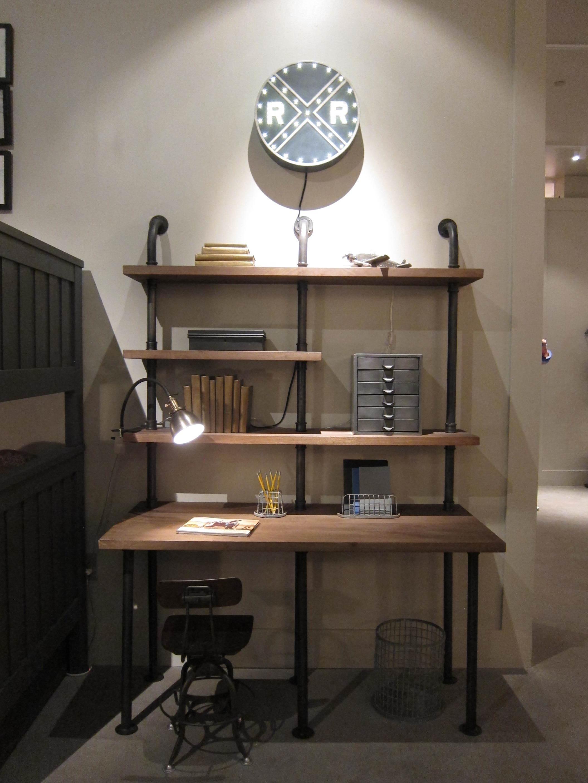 26 Kenwood Bunk Room Pipe Desk 2.JPG