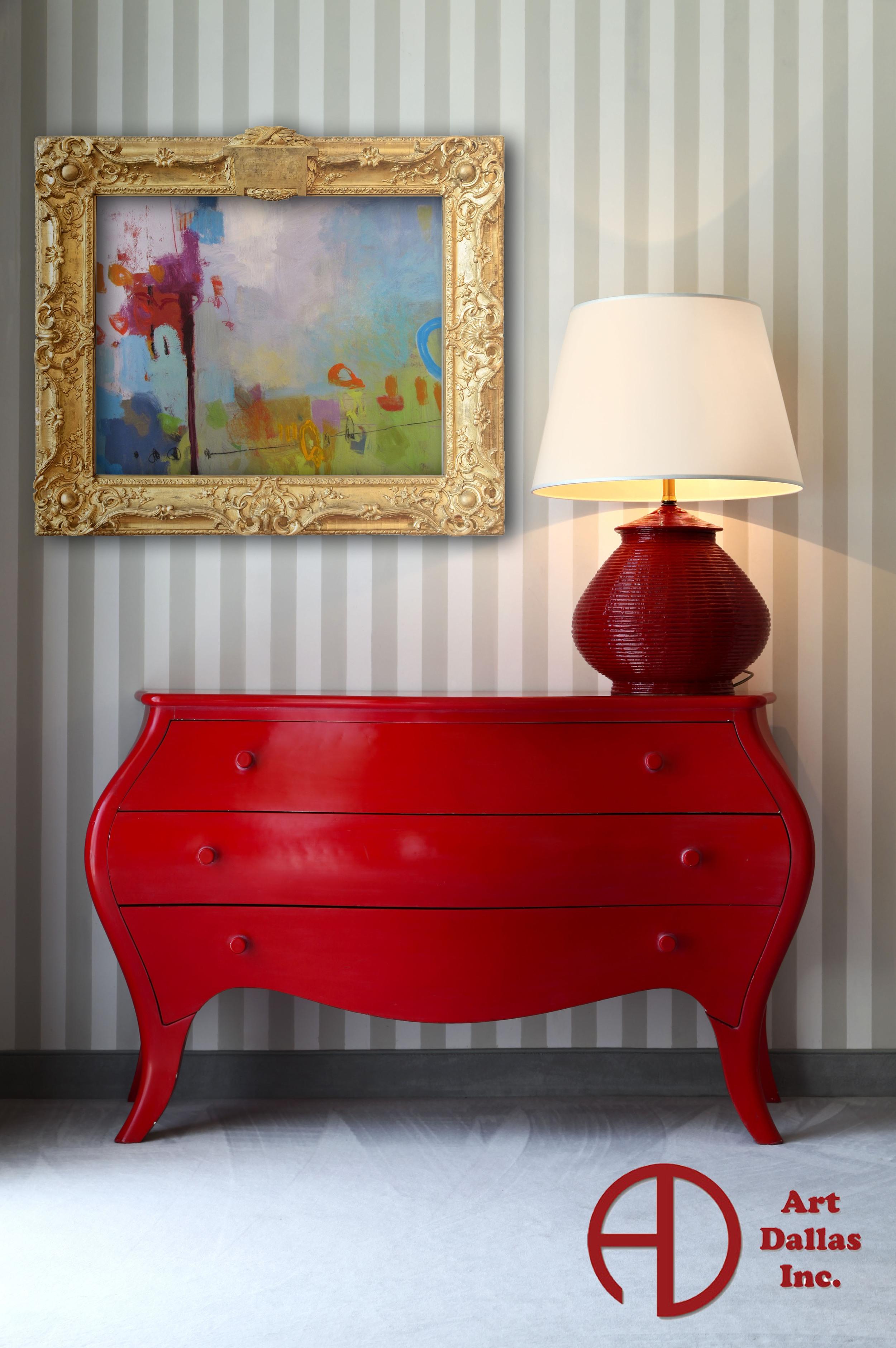 red dresser gold frame.jpg