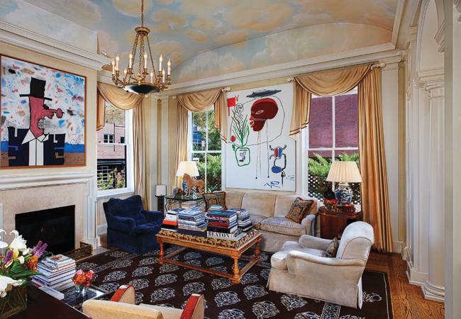 Harley Baldwin and Richard Edwards' apartment in Aspen