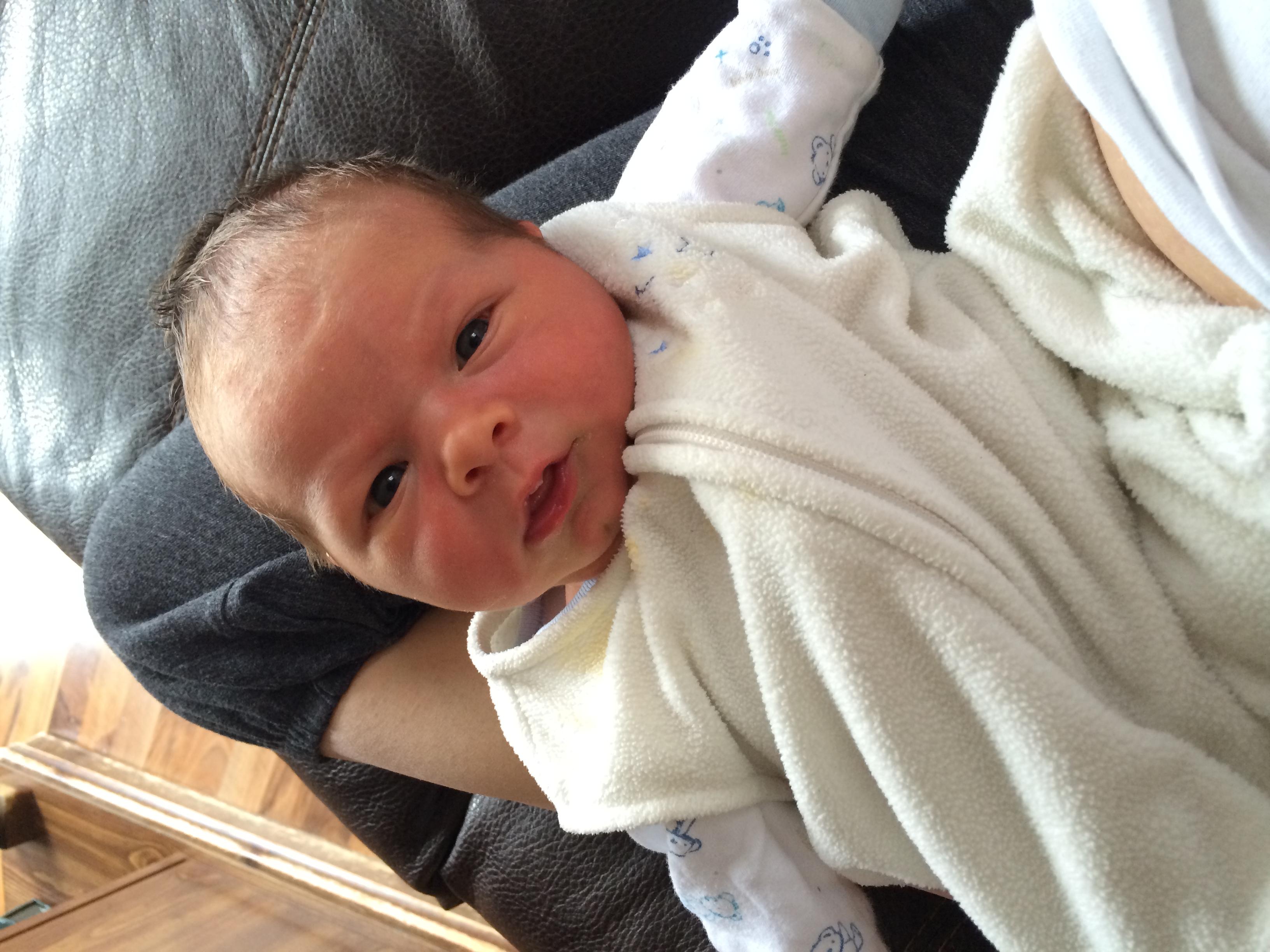 Baby Bennett...the cutest.