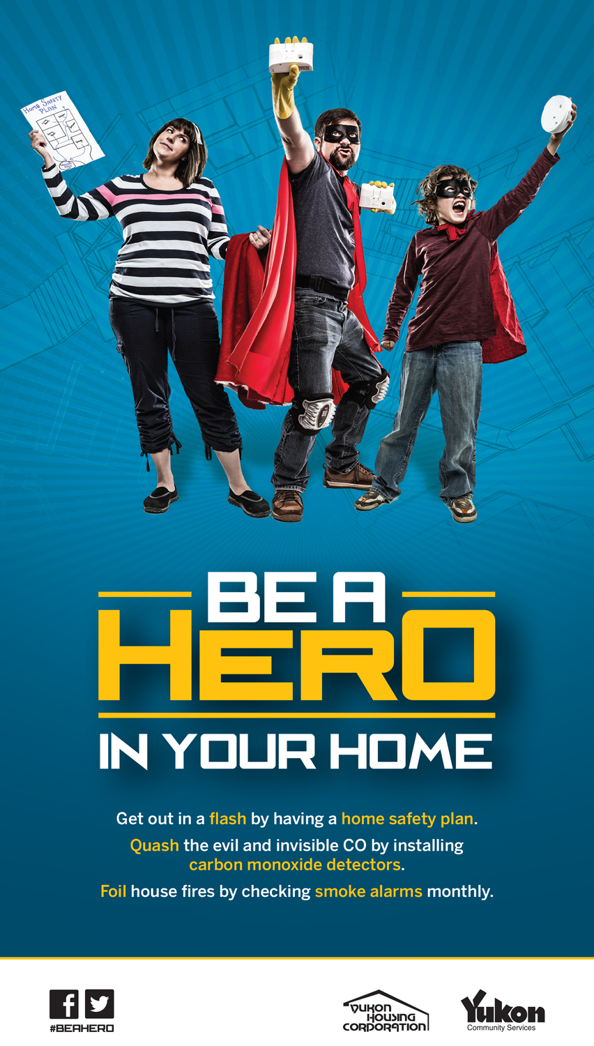 Be A Hero in Your Home Poster
